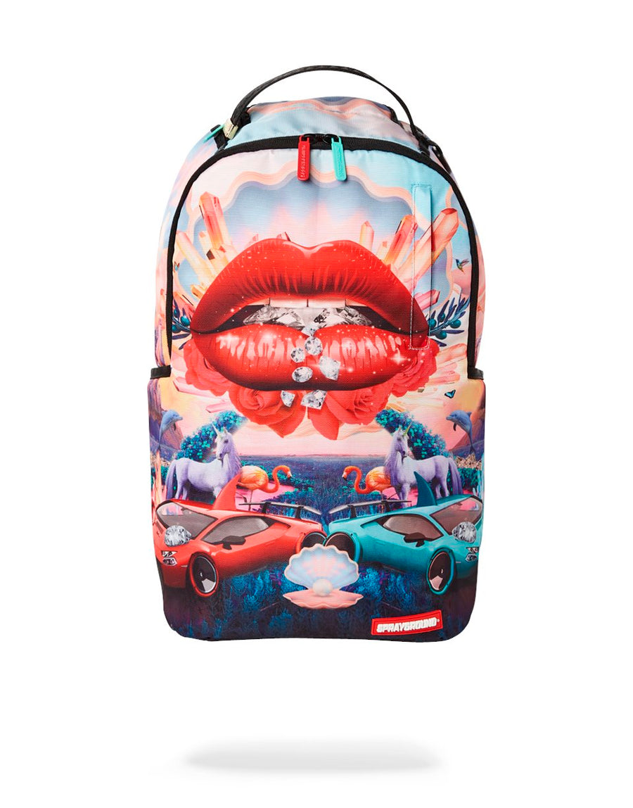 SPRAYGROUND- LIPS AND FAMOUS BACKPACK BACKPACK