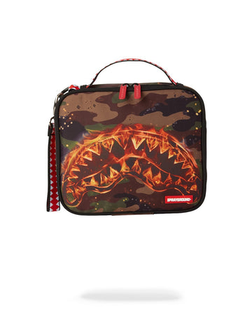 SPRAYGROUND- SHARK FIRE SNACK PACK SNACK PACK