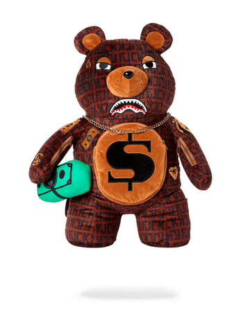 OFFENDED TEDDY BEAR BACKPACK