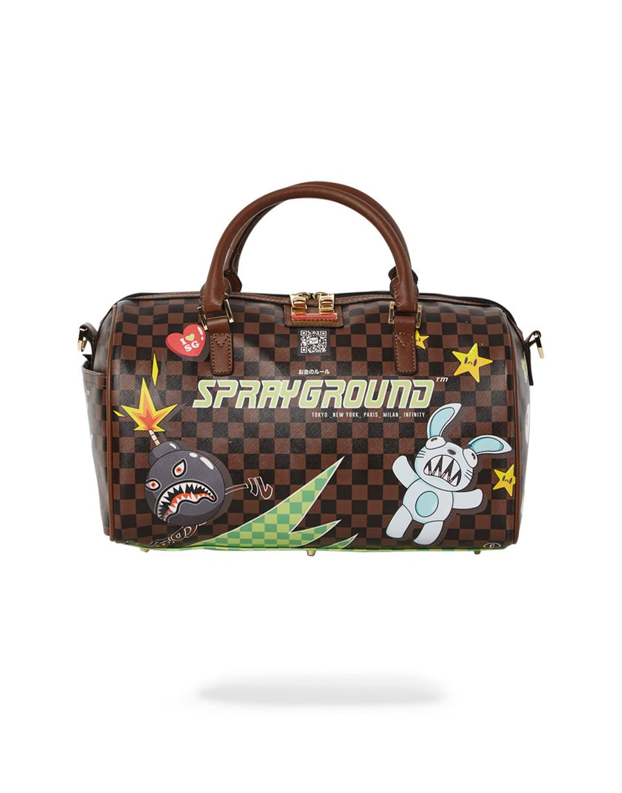 SPRAYGROUND- THUNDER SHARKS MINI DUFFLE DUFFLE