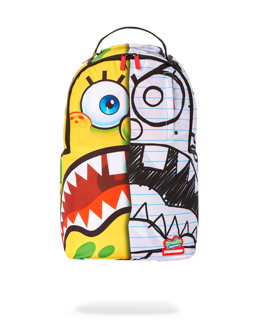 SPRAYGROUND- SPONGDOODLE BOB BACKPACK BACKPACK