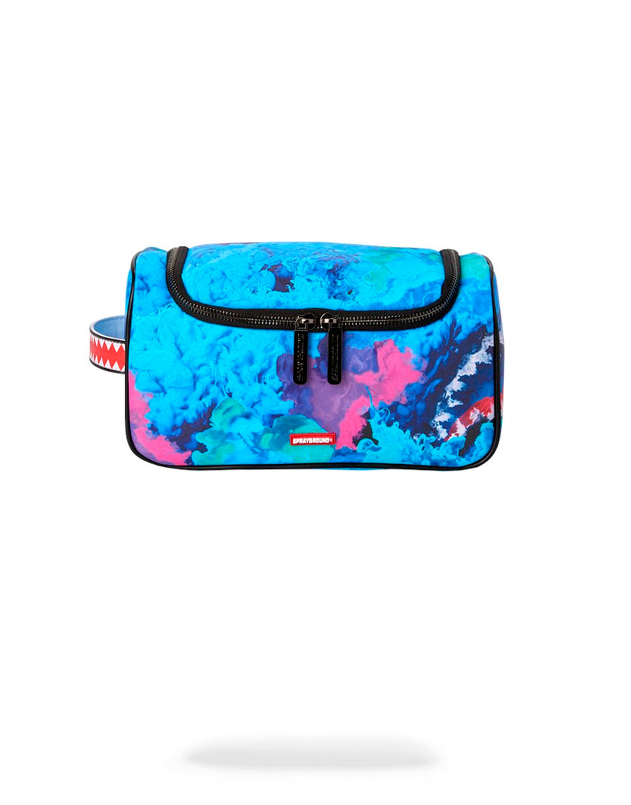 SPRAYGROUND- COLOR DRIP TOILETRY BAG TOILETRY BAG