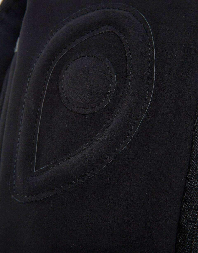 BLACK GHOST SHARK NUBUCK SUEDE BACKPACK