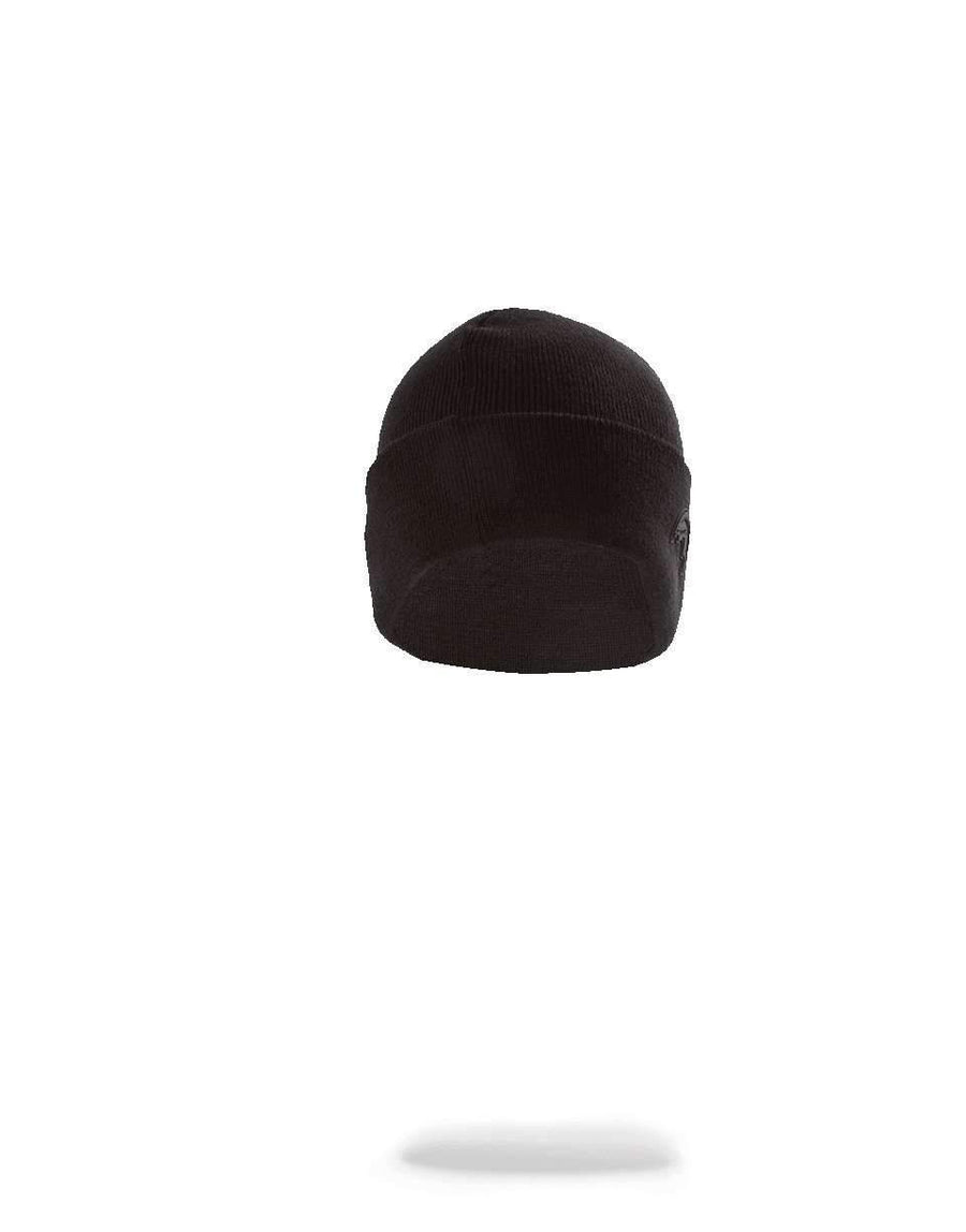 BLACK RUBBER SHARK BEANIE