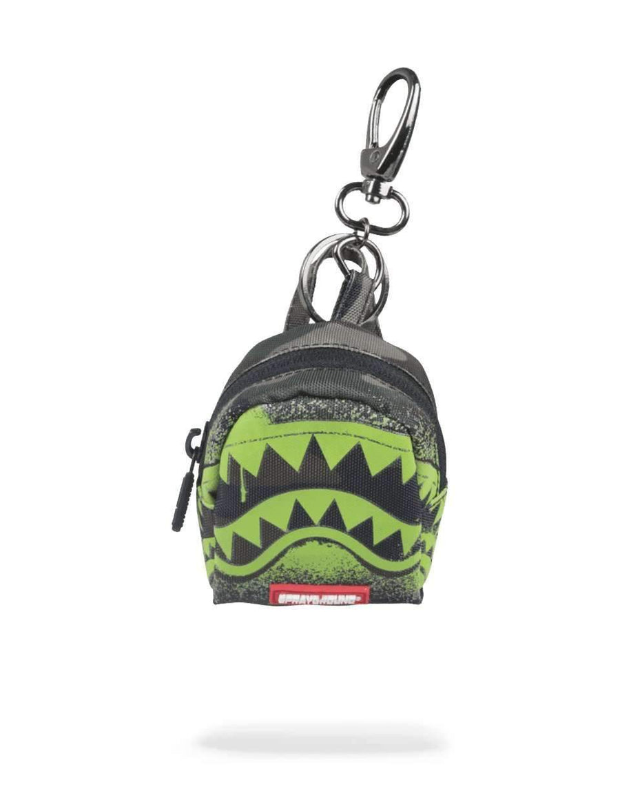 CAMO GLOW IN THE SHARK KEYCHAIN