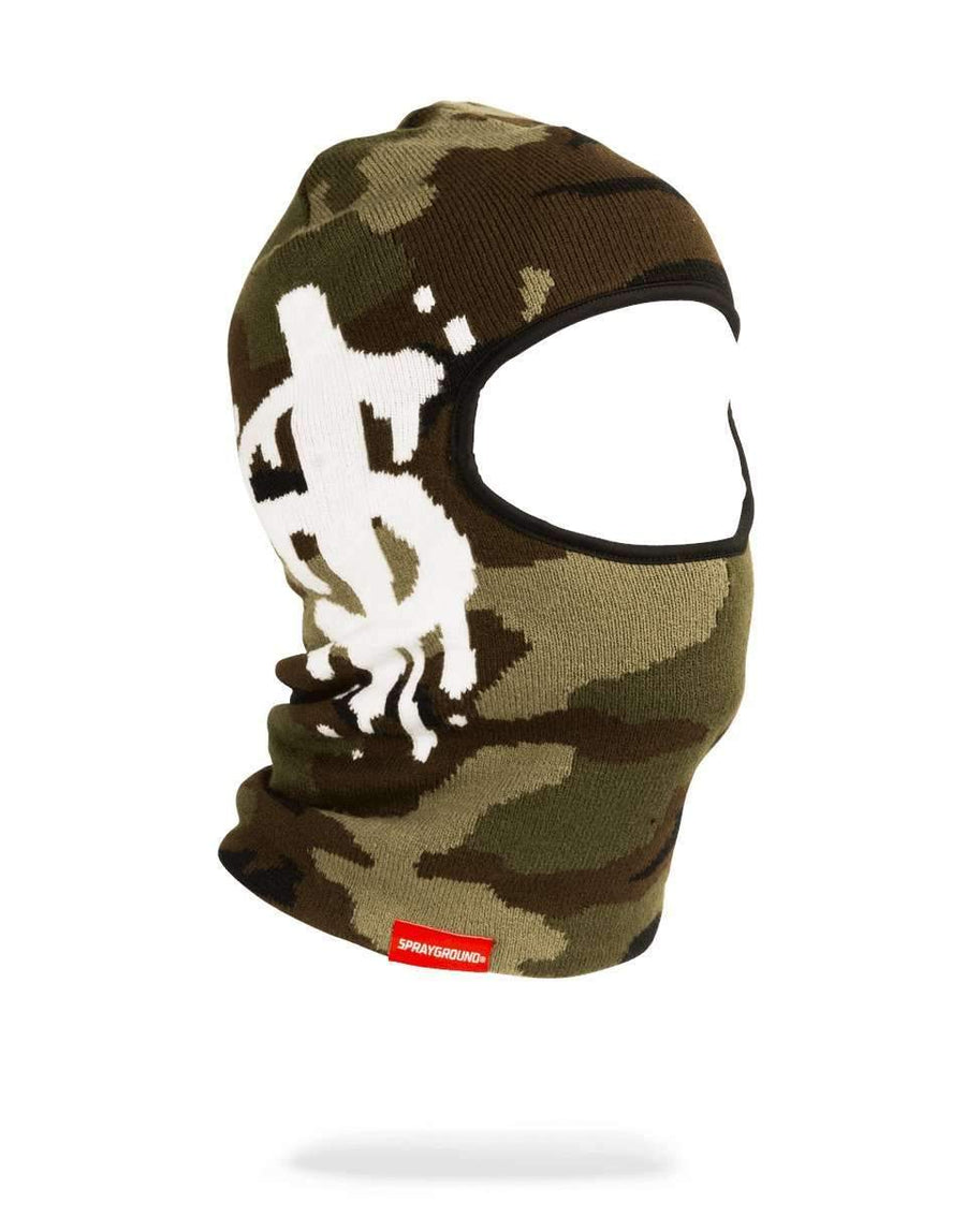 CAMO MONEY DRIP SKI MASK w18