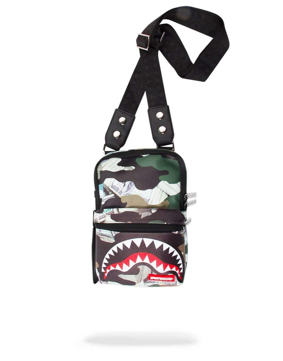 CAMO MONEY SHARK SLING
