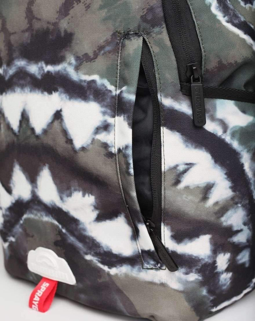 CAMO TIE DYE SHARK BACKPACK