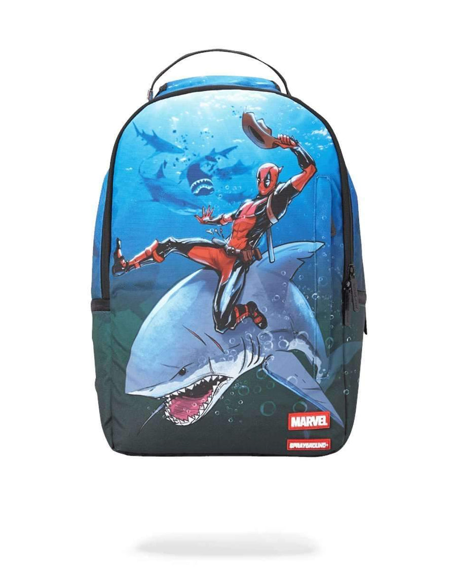 DEADPOOL RIDING SHARK