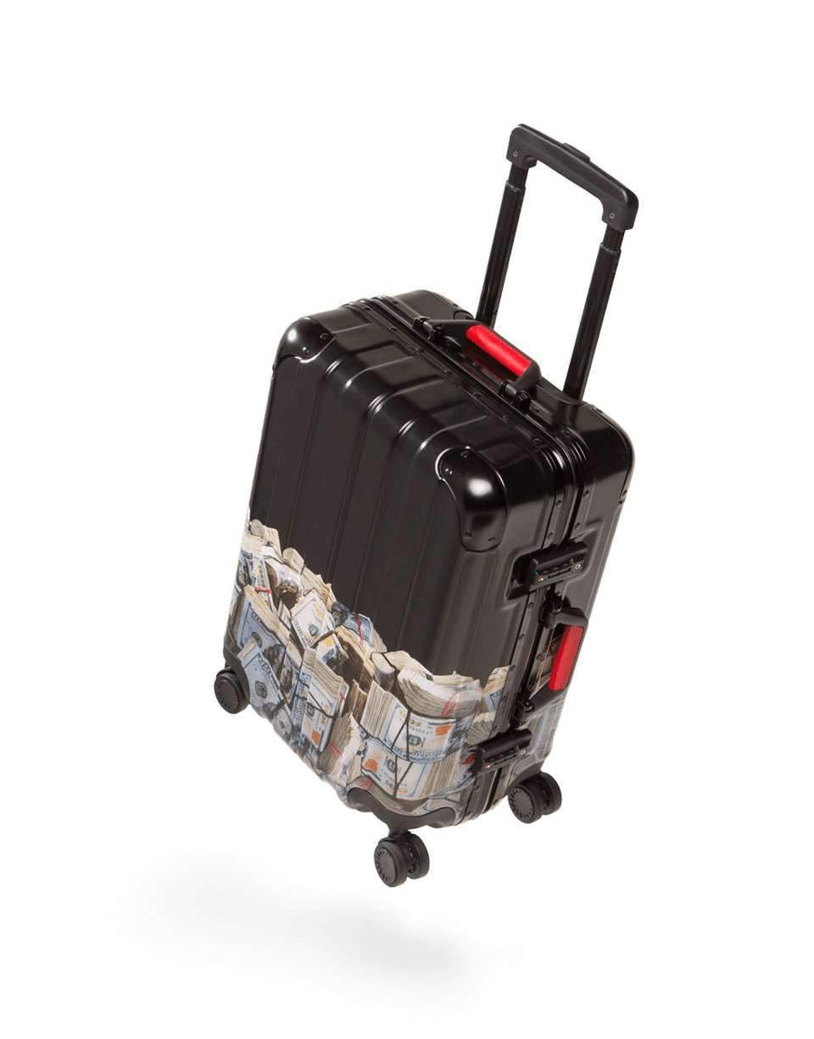 "MONEY ROLLED 22"" CARRY-ON LUGGAGE"
