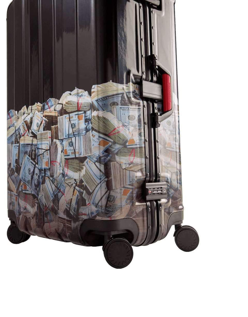 "MONEY ROLLED 29"" FULL SIZE LUGGAGE"