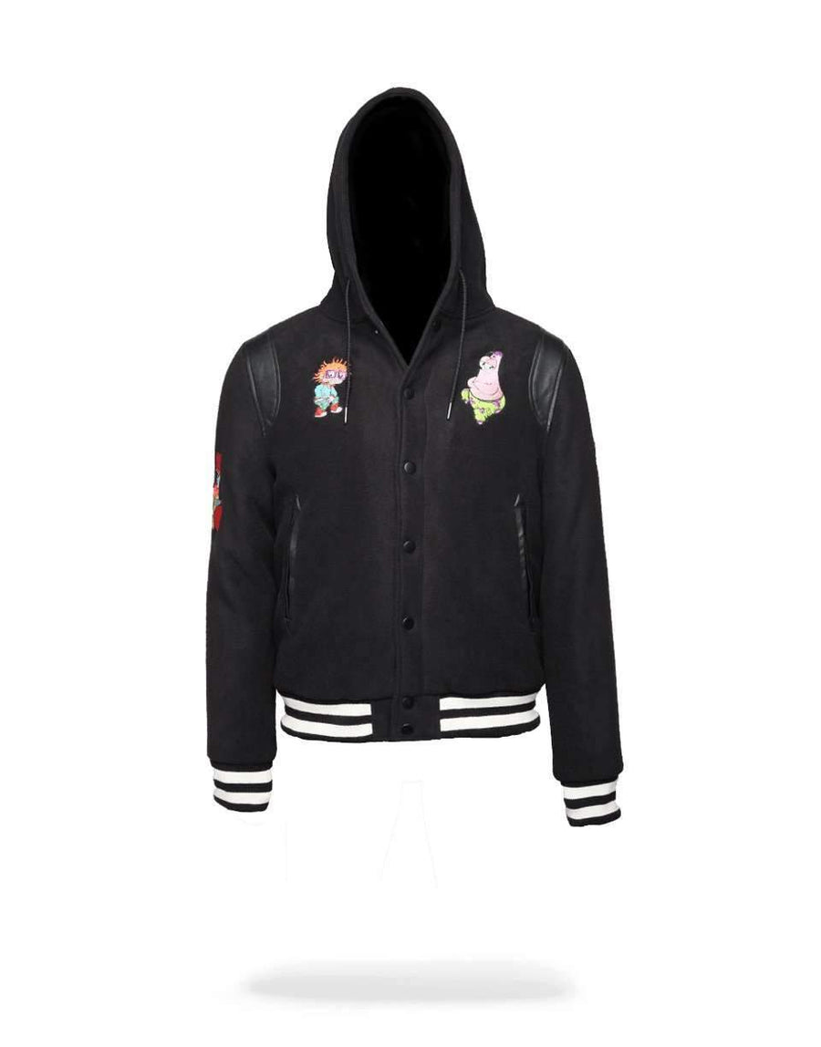 NICK ANIME VARSITY JACKET