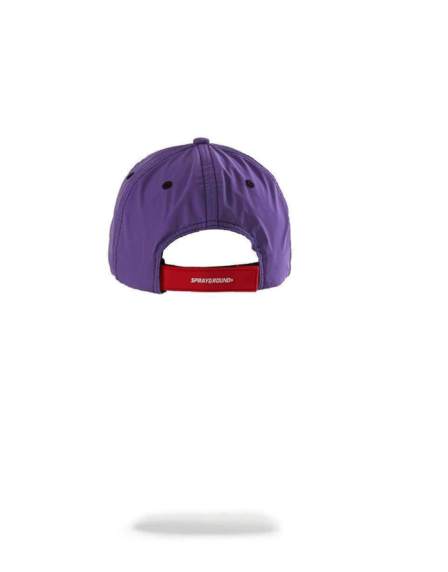 PURPLE 3M SHARK MOUTH HAT