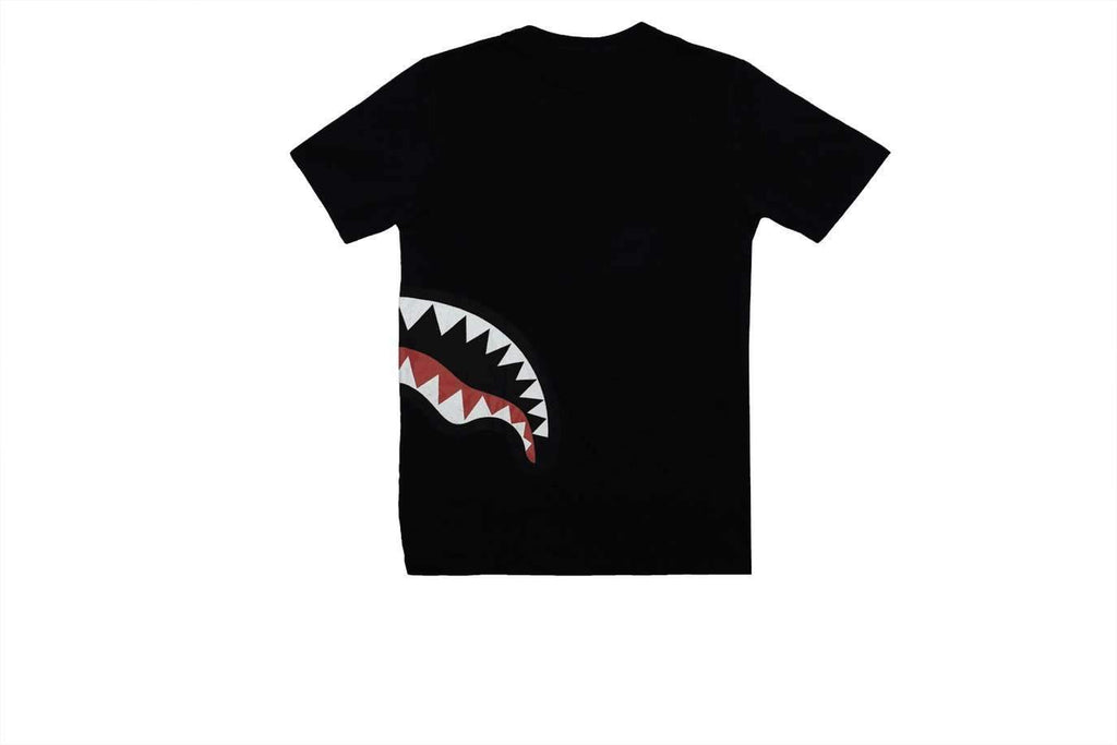 SHARK BY SIDE Tshirt Black