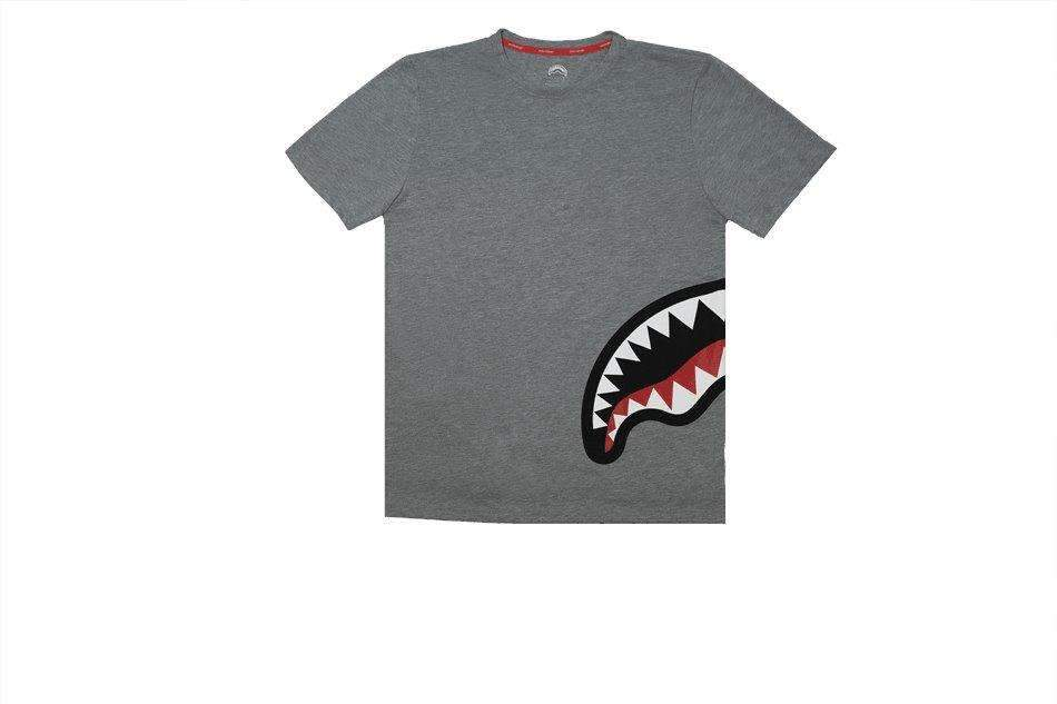SHARK BY SIDE Tshirt Grey