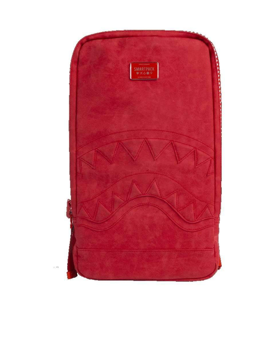 SHARK SMARTPACK (RED SEUEDE) LAPTOP BAG
