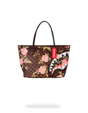 SPRAYGROUND- SHARK FLOWER TOTE TOTE
