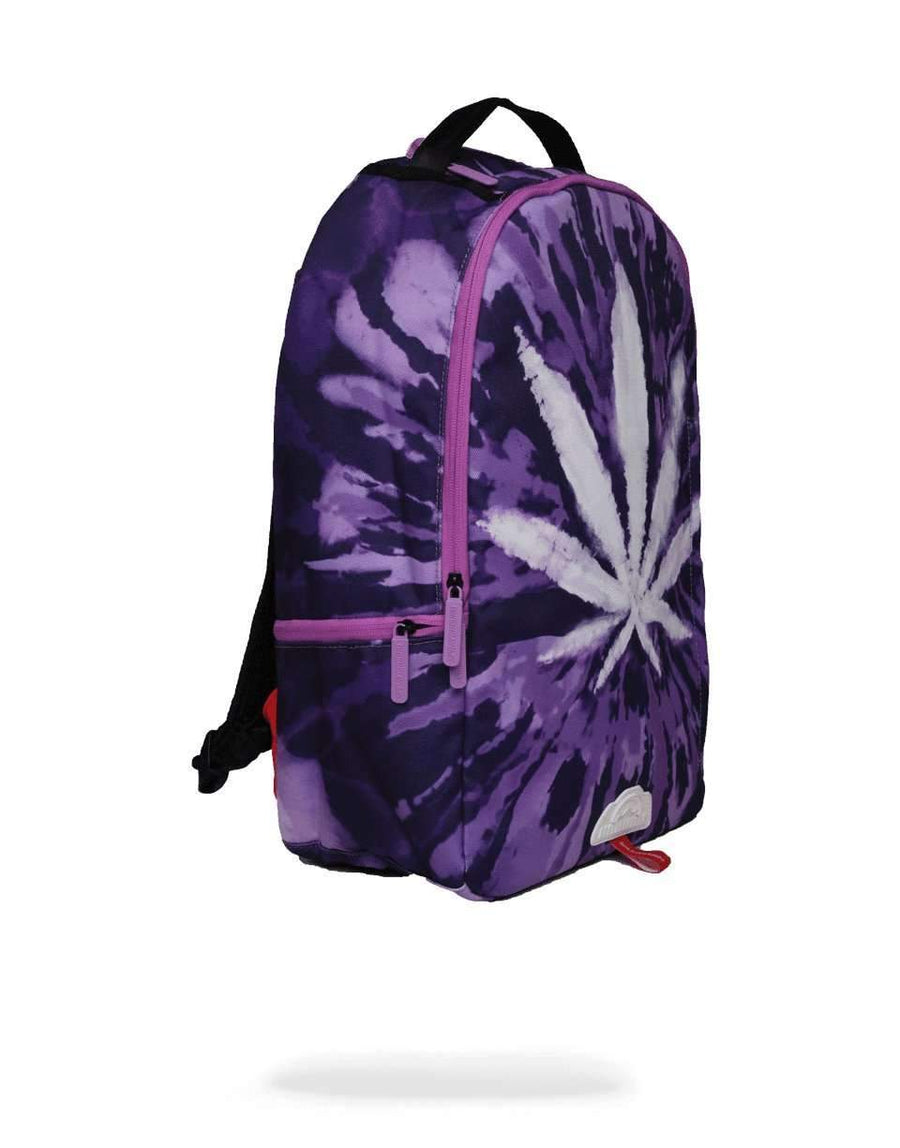 WEED TIE DYE BACKPACK
