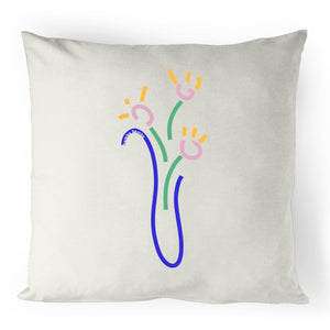 Florero Linen Cushion Cover - Bamba Bamba Collective