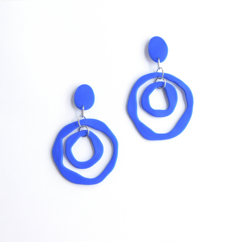 bamba-bamba,ANTONIA MINI ~ ELECTRIC BLUE ~ PRE ORDER,Bamba Bamba Collective,DANGLES