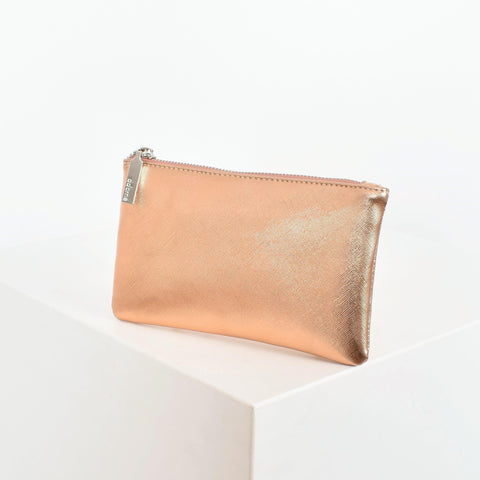 TEXTURED METALLIC RECTANGLE PURSE