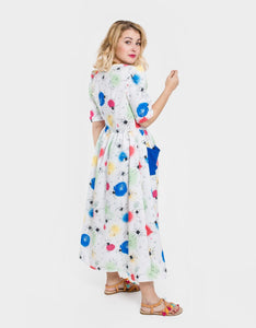 bamba-bamba - Ojos Maxi Dress - Bonica In Love - DRESSES