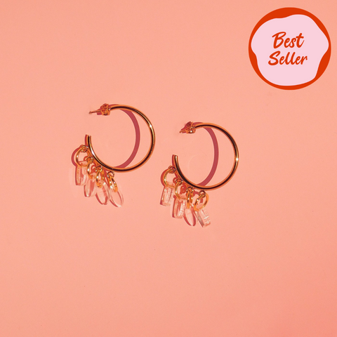 Lola Half Hoops - Bamba Bamba Collective