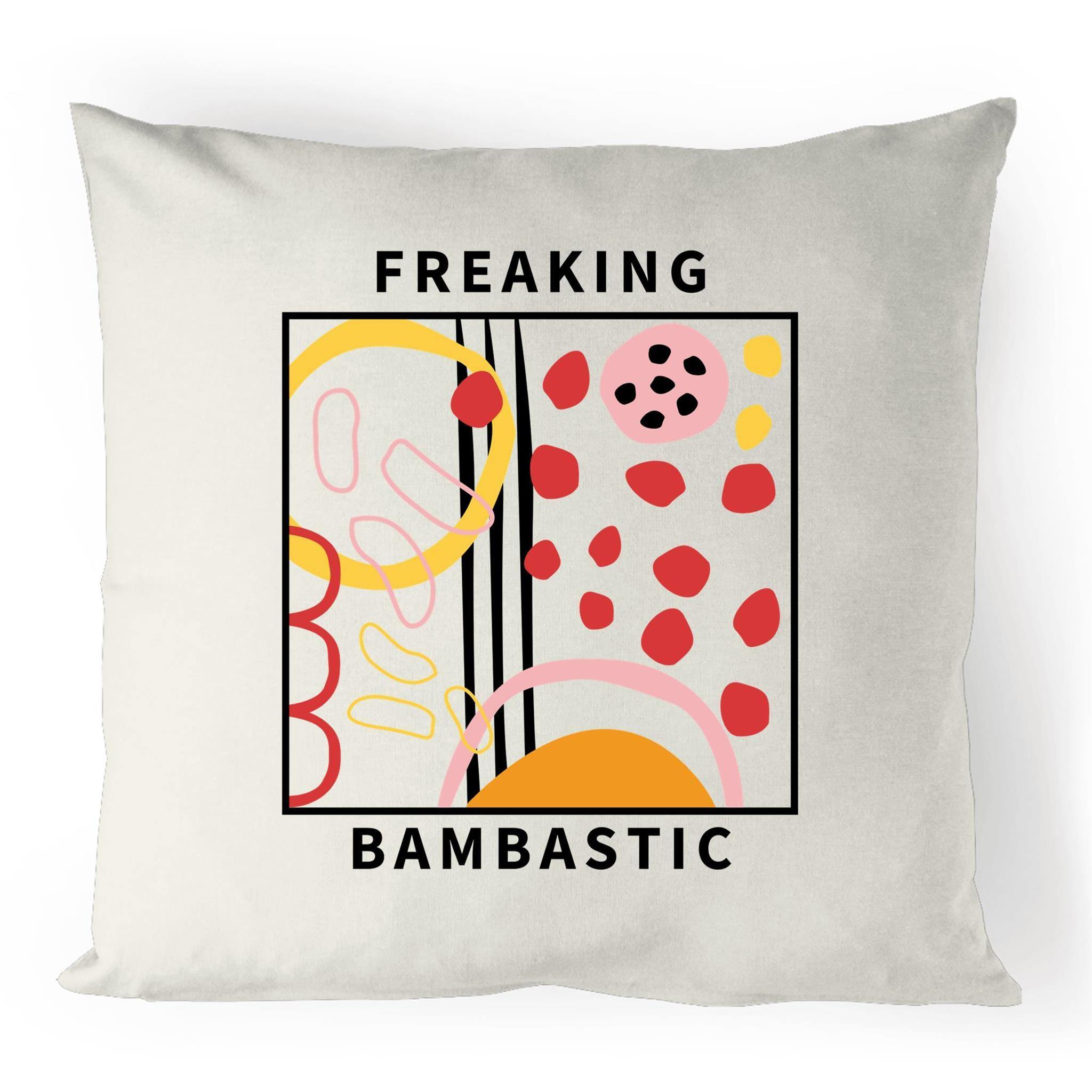 Freaking Bambastic Linen Cushion Cover.