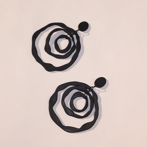 Earrings Bamba Bamba ANTONIA DANGLES ~ BLACK ~ PRE ORDER XXL DANGLES