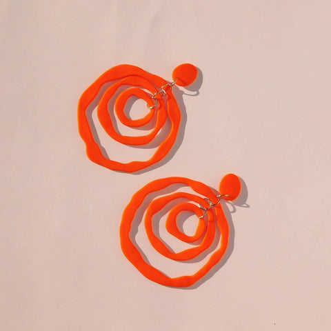 bamba-bamba,ANTONIA DANGLES ~ ORANGE~ PRE ORDER,Bamba Bamba Collective,XXL DANGLES