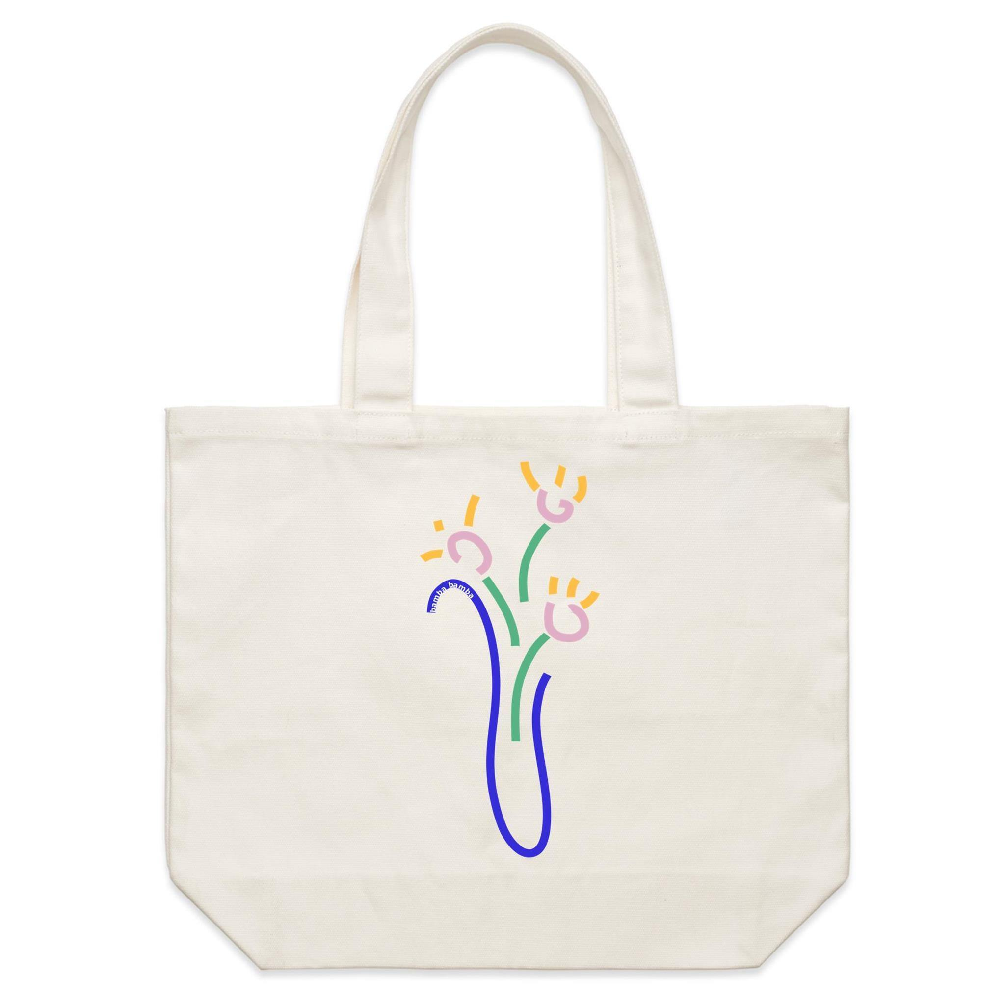 Florero Canvas Tote Bag - Bamba Bamba Collective