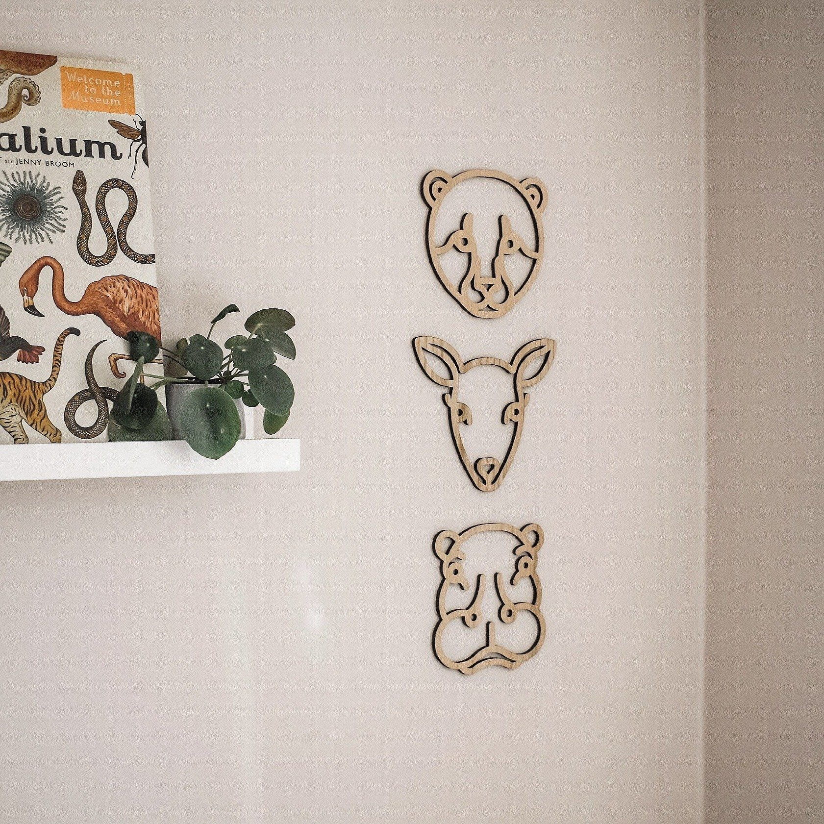 Deer - Wooden Wall Decor