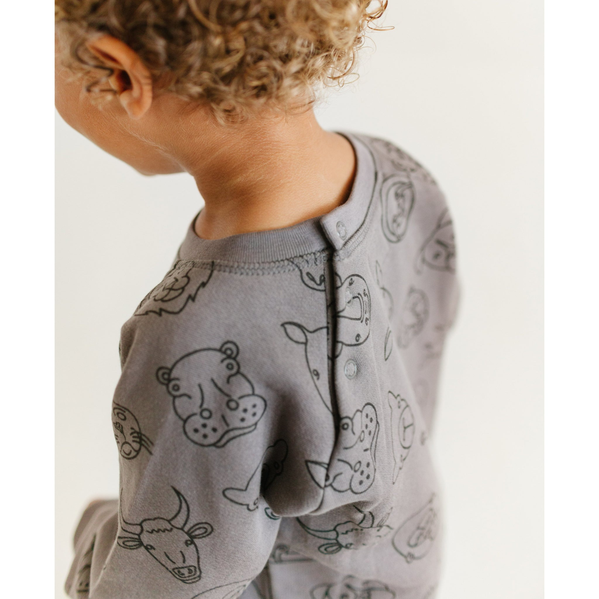 Sweater - Animal Motif Sweater
