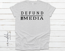 Load image into Gallery viewer, DEFUND THE MEDIA UNISEX T-SHIRTS