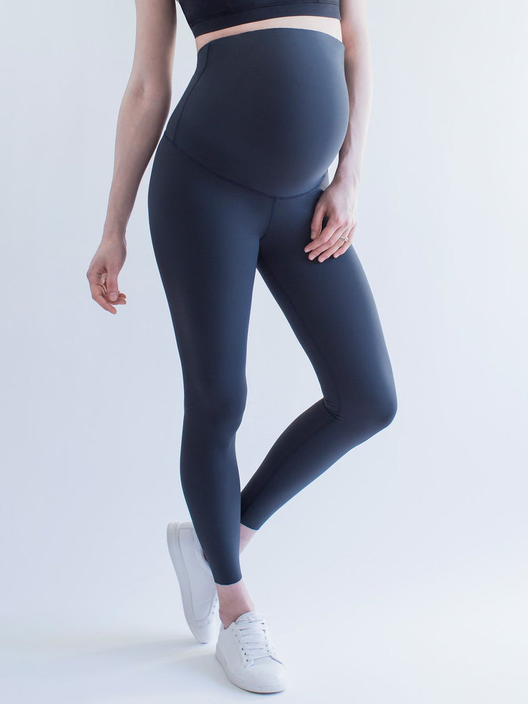OVER-THE-BUMP MATERNITY SHAPE PANTS, MIDNIGHT