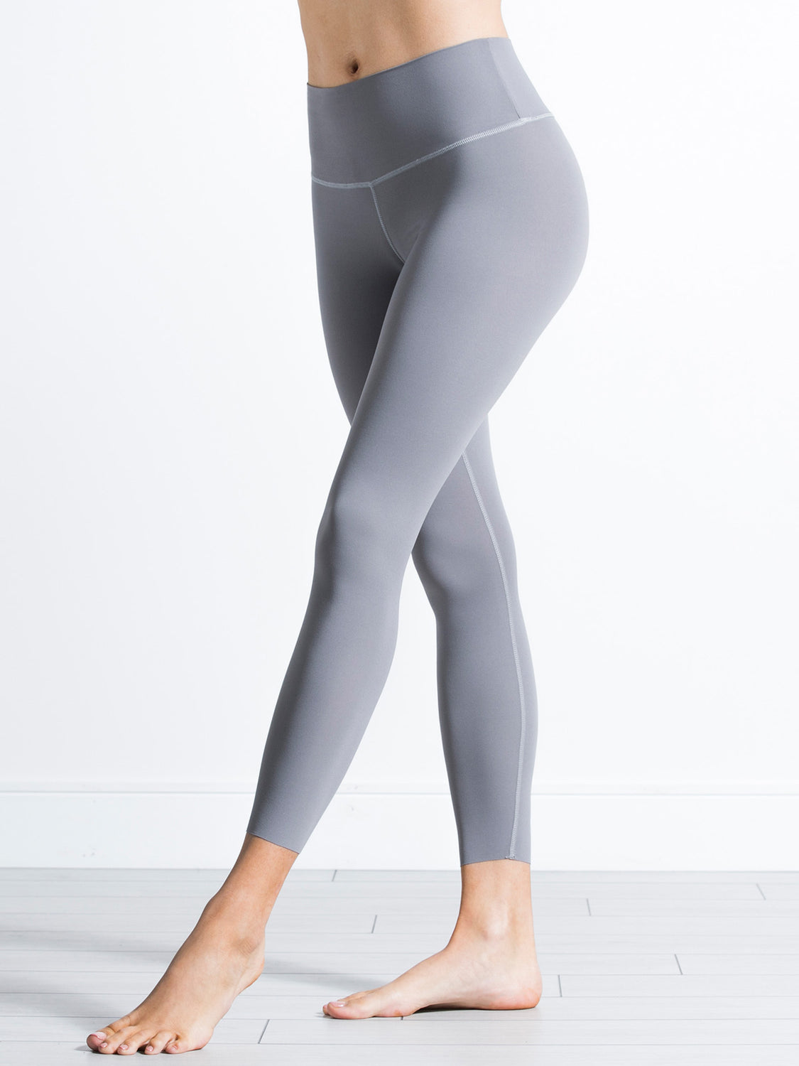 NUDE SHAPE PANTS, LUNAR GREY