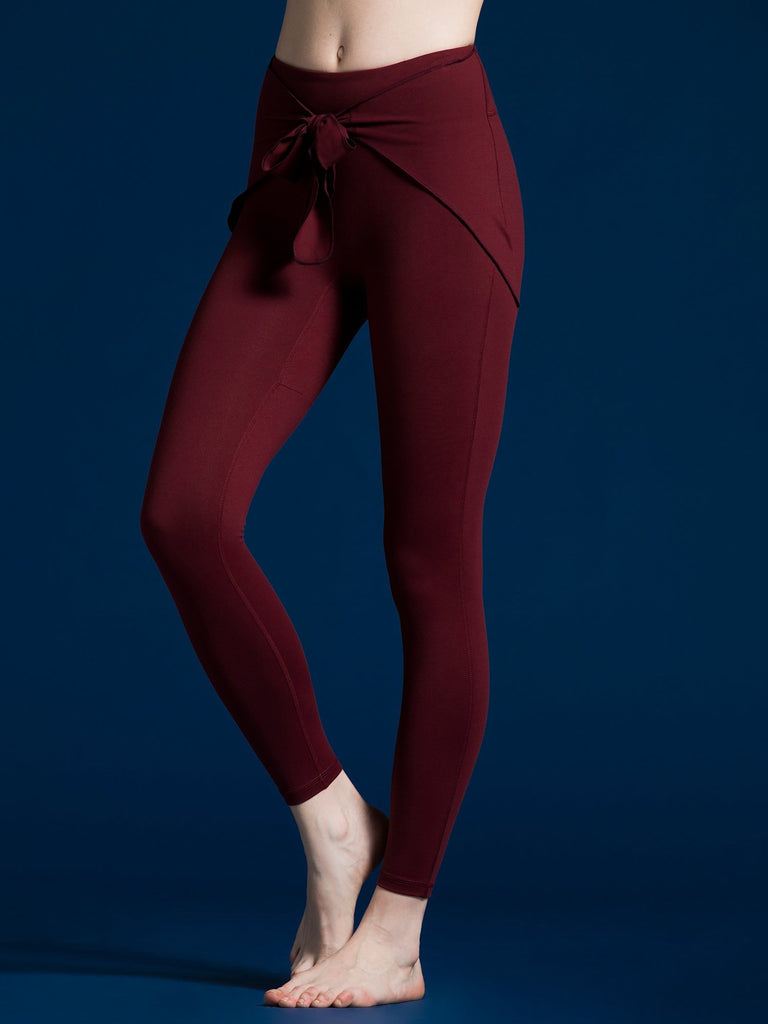 PARADISE PANTS, BORDEAUX