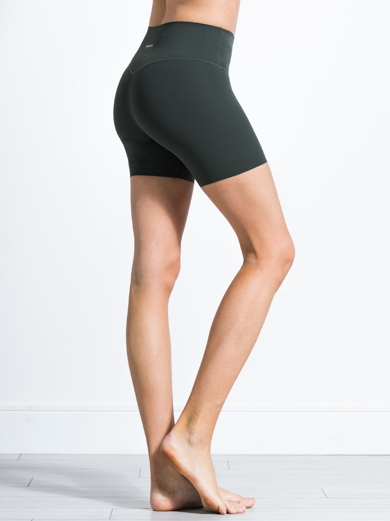 "NUDE SHAPE 6"" SHORTS, DEEP FOREST"