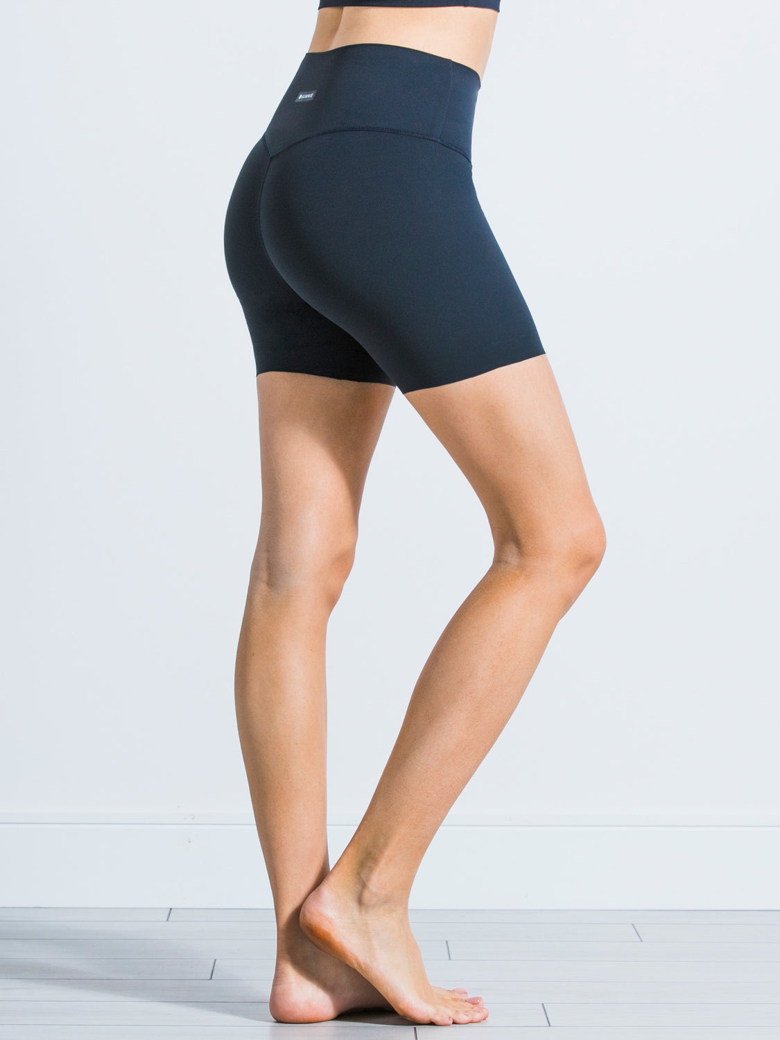 "NUDE SHAPE 6"" SHORTS, MIDNIGHT GREY"