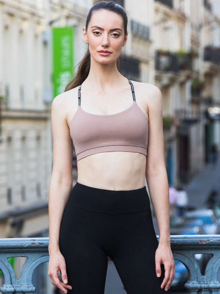 ADJUSTMENT BRA, MOCHA