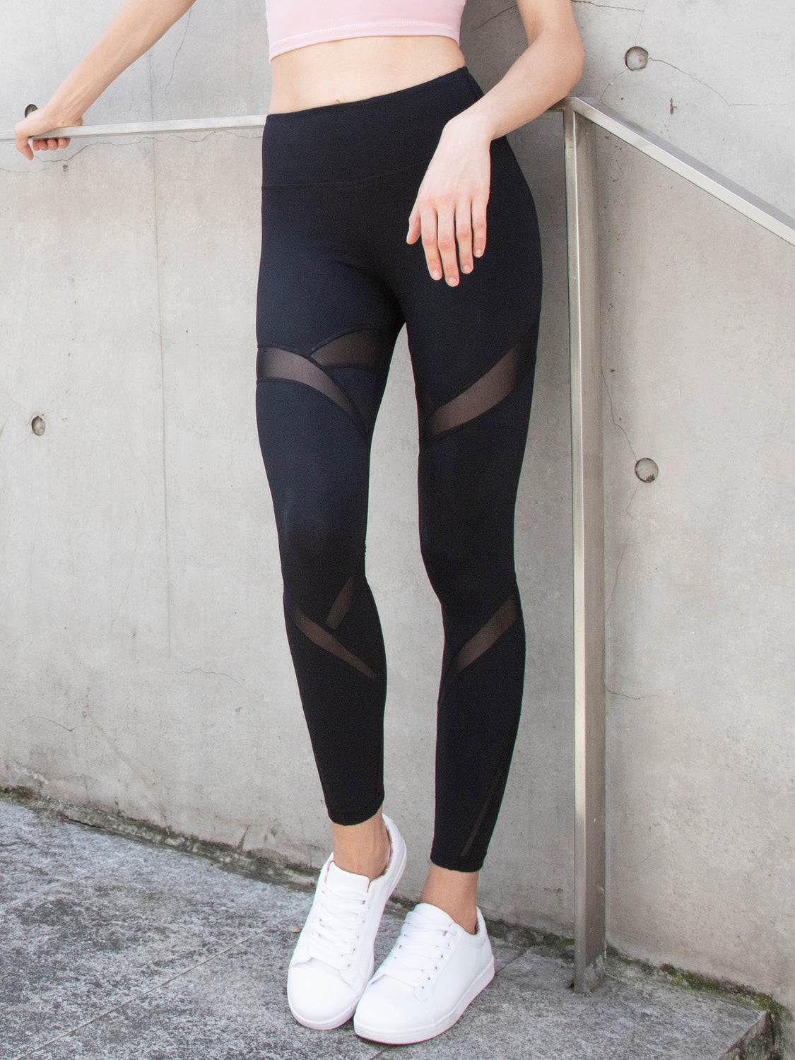 DRIFT PANTS, BLACK/BLACK MESH