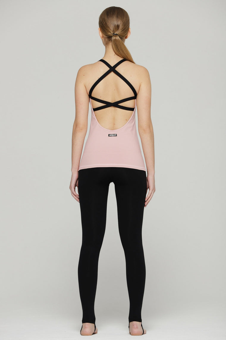 PARALLEL TANK 2.0, BLUSH/BLACK