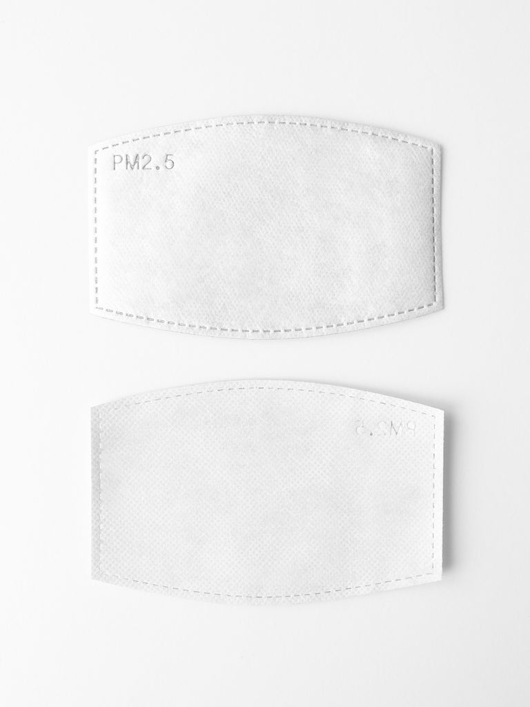 MASK FILTER, 10 PIECES(マスク交換用フィルター10個セット)