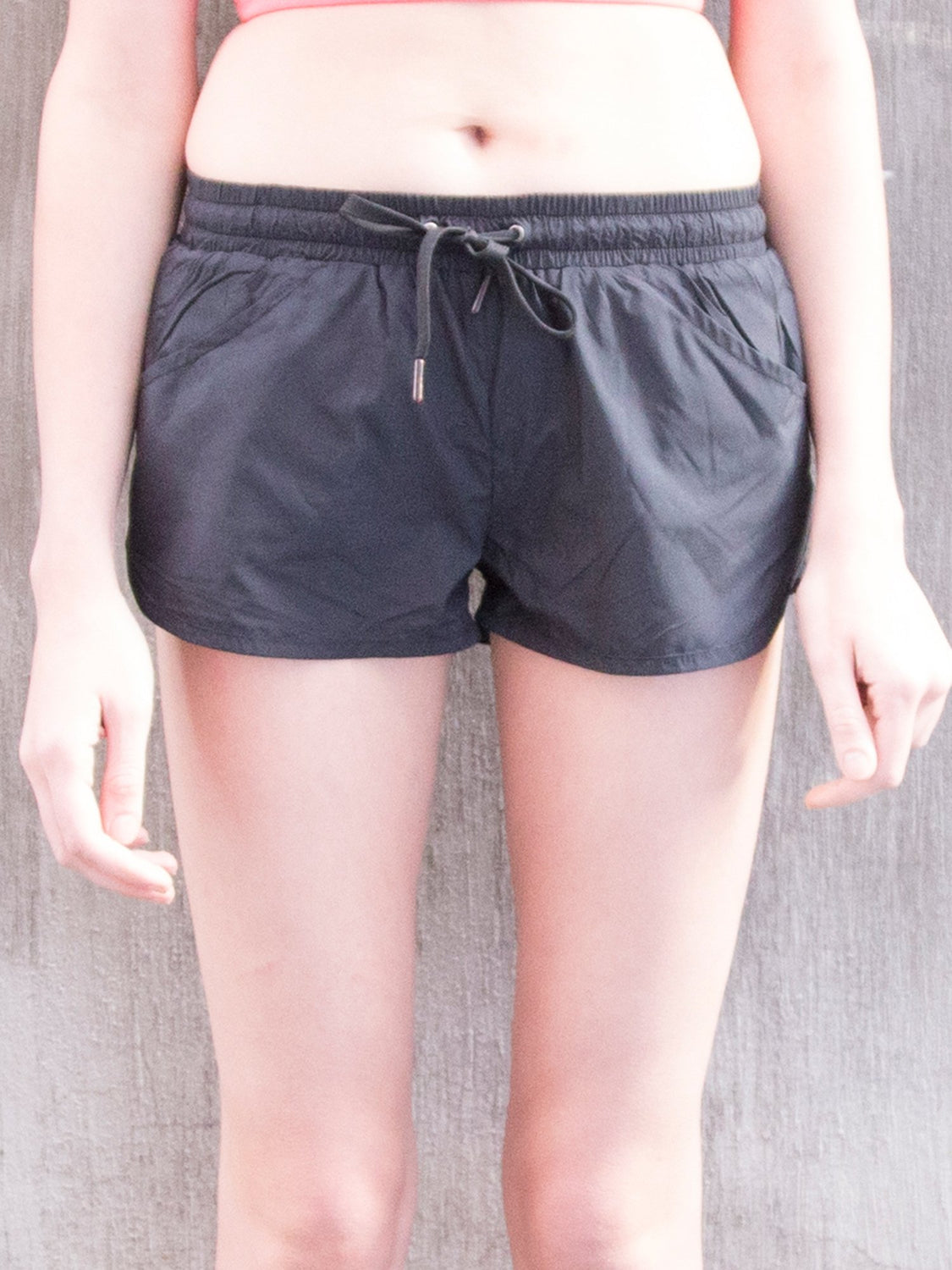 RELAY RUNNING SHORTS, BLACK