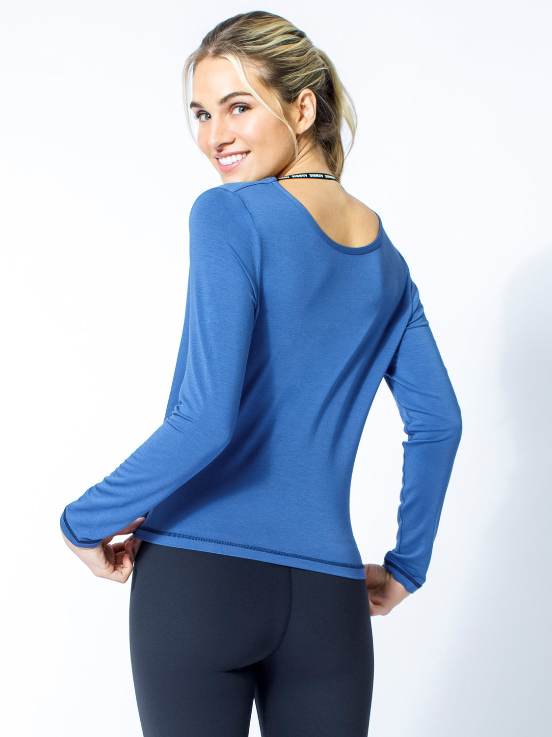 LONG SLEEVE TWIST TEE, MATISSE