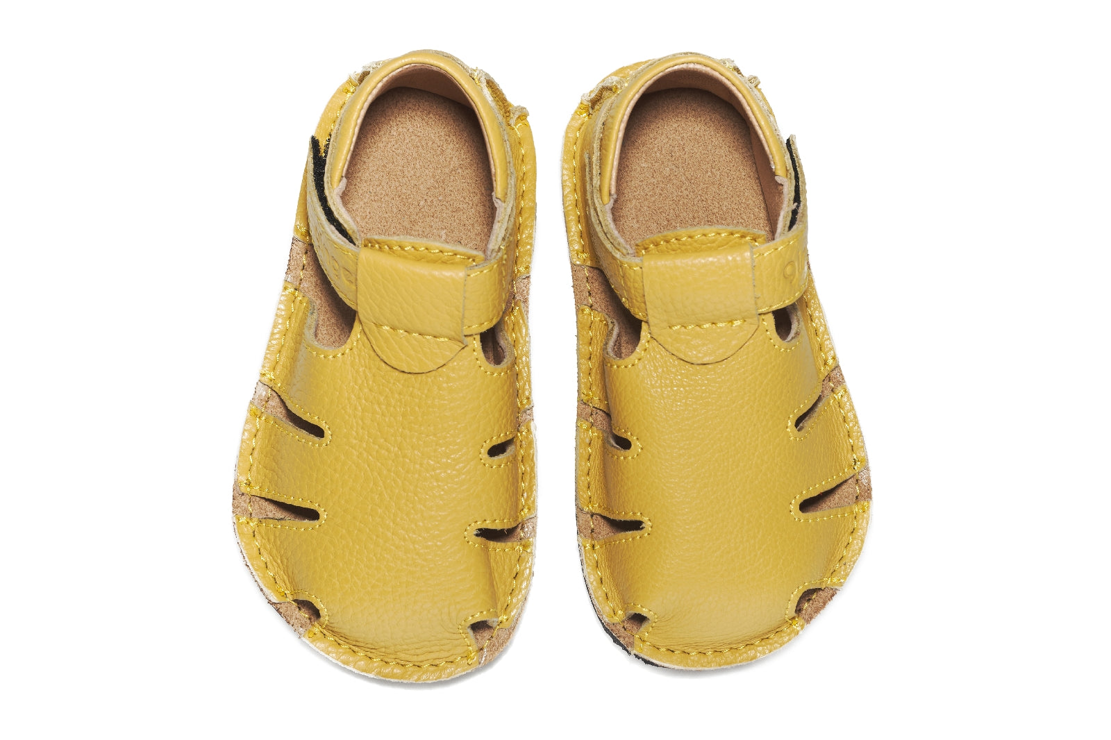 Sandale barefoot Tim - Yellow Melon