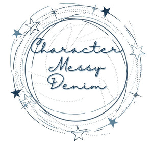Character Messy Denim