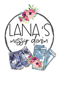 Lana's Messy Denim