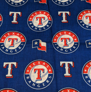 Texas Rangers Messy Denim