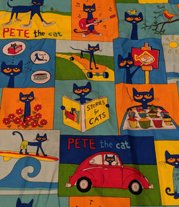Pete the Cat Messy Denim